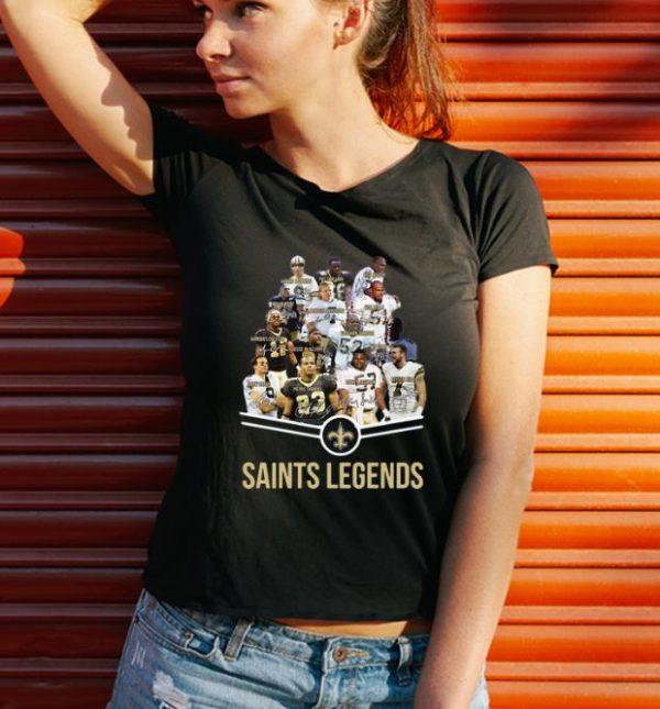 Premium New Orleans Saints NFL Signatures shirt