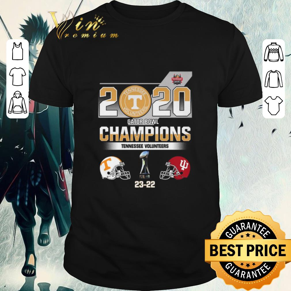 Awesome 2020 Gator Bowl Champions Tennessee Volunteers Indiana Hoosiers Shirt 1 1.jpg