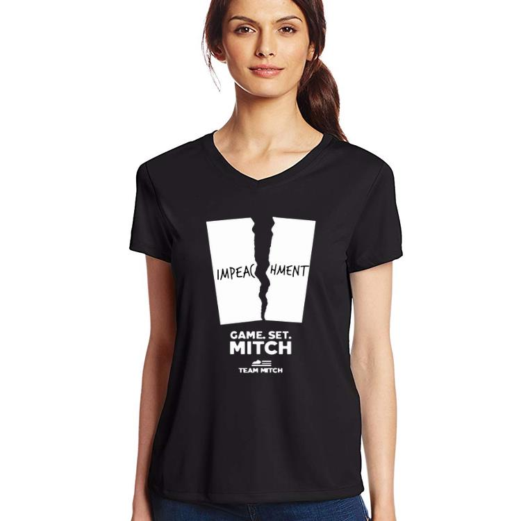 Nice Game Set Mitch Mcconnell Pelosi Impeachment Team Mitch Shirt 3 1.jpg