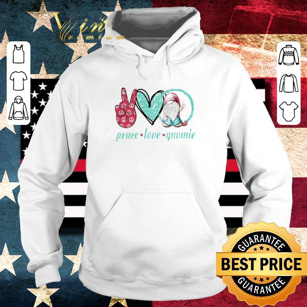 Hot Peace Love Gnomie shirt