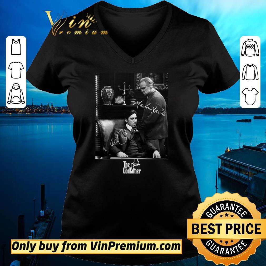 Awesome The godfather vito corleone michael corleone signatures shirt 2