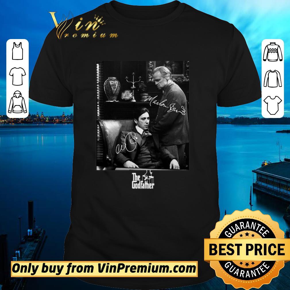 Awesome The godfather vito corleone michael corleone signatures shirt 1