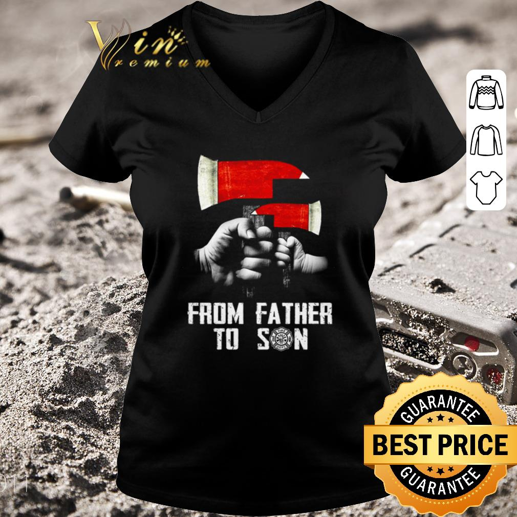 Awesome From father to son shirt 3
