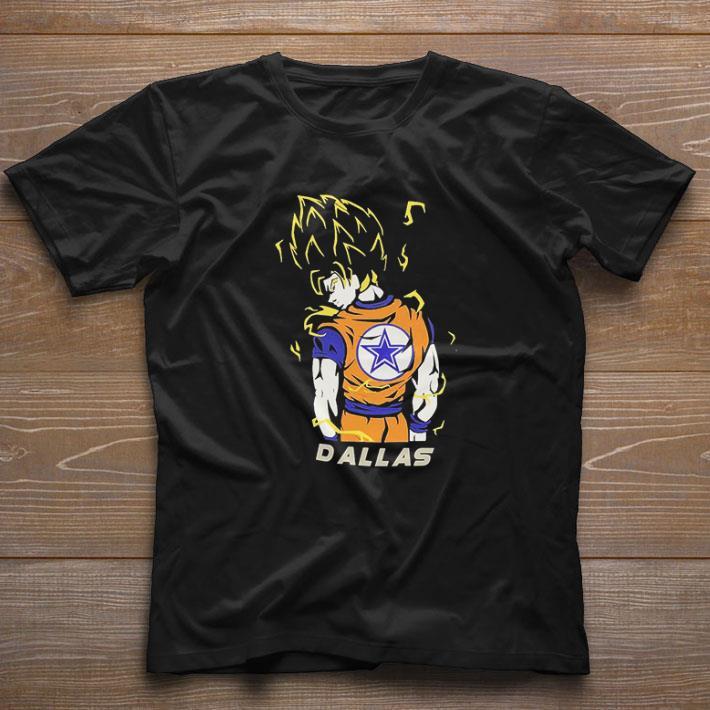 Nice Dallas Cowboys Songoku Dragon Super Saiyan shirt 1